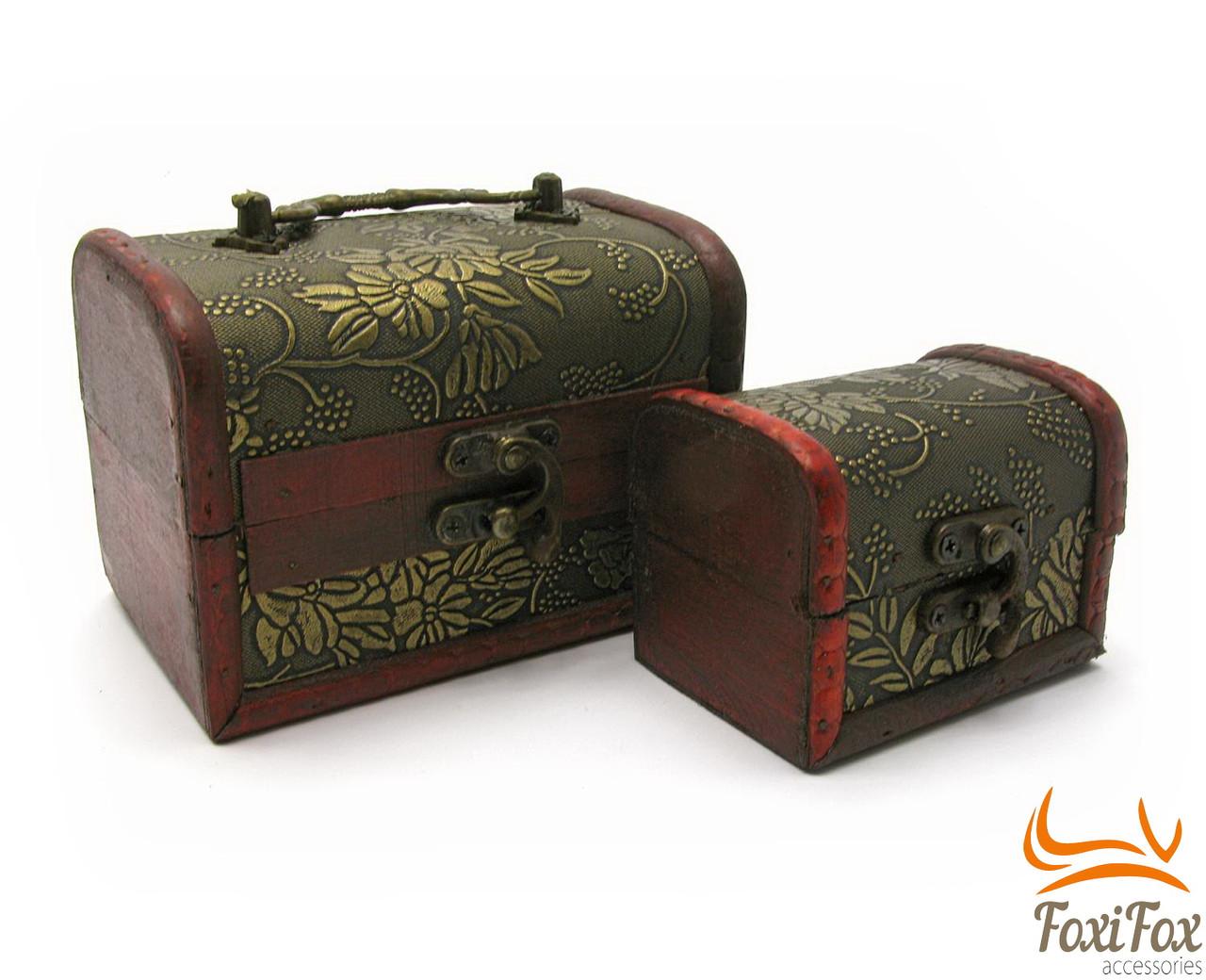 Набор деревянных сундучков  - FOXI-FOX.COM онлайн маркет подарков в Харькове
