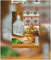 Схемы для вышивки бисером на холсте Сало картошечка (А4)