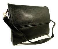 Сумочка, клатч, планшет 2880 черный, 28*22*7 см