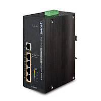 Промышленный коммутатор PoE Planet IGS-504HPT (5-Port with 4-Port 802.3at PoE+)