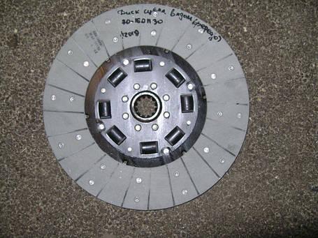 Диск сцепления МТЗ-80 (резиновый демпфер), фото 2