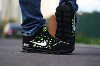 Мужские кроссовкиNike SpringBlade (салатовый)+ коробка Nike