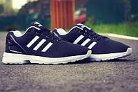 Мужские кроссовки Adidas Zx Flux / black+ коробка adidas
