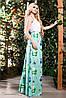 Оригинальное с красочными рисунками платье, фото 2
