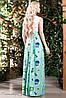 Оригинальное с красочными рисунками платье, фото 3