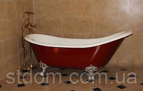 Классическая чугунная ванна (ретро) Canadian Standard Bristol C041776 170x76 белый