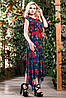 Изысканное, стильное, яркое платье, фото 2