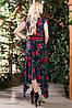 Изысканное, стильное, яркое платье, фото 3