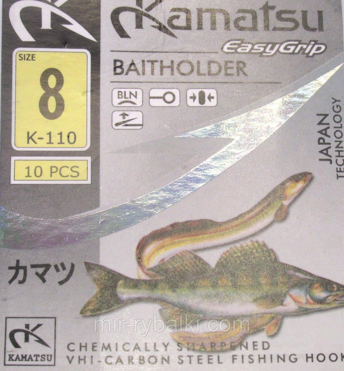Крючки Kamatsu BAITHOLDER 8