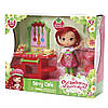 Кукла Шарлотта Земляничка кафе/салон The Bridge Direct Shortcake Berry Bitty Shops with Doll: Strawberry Caf