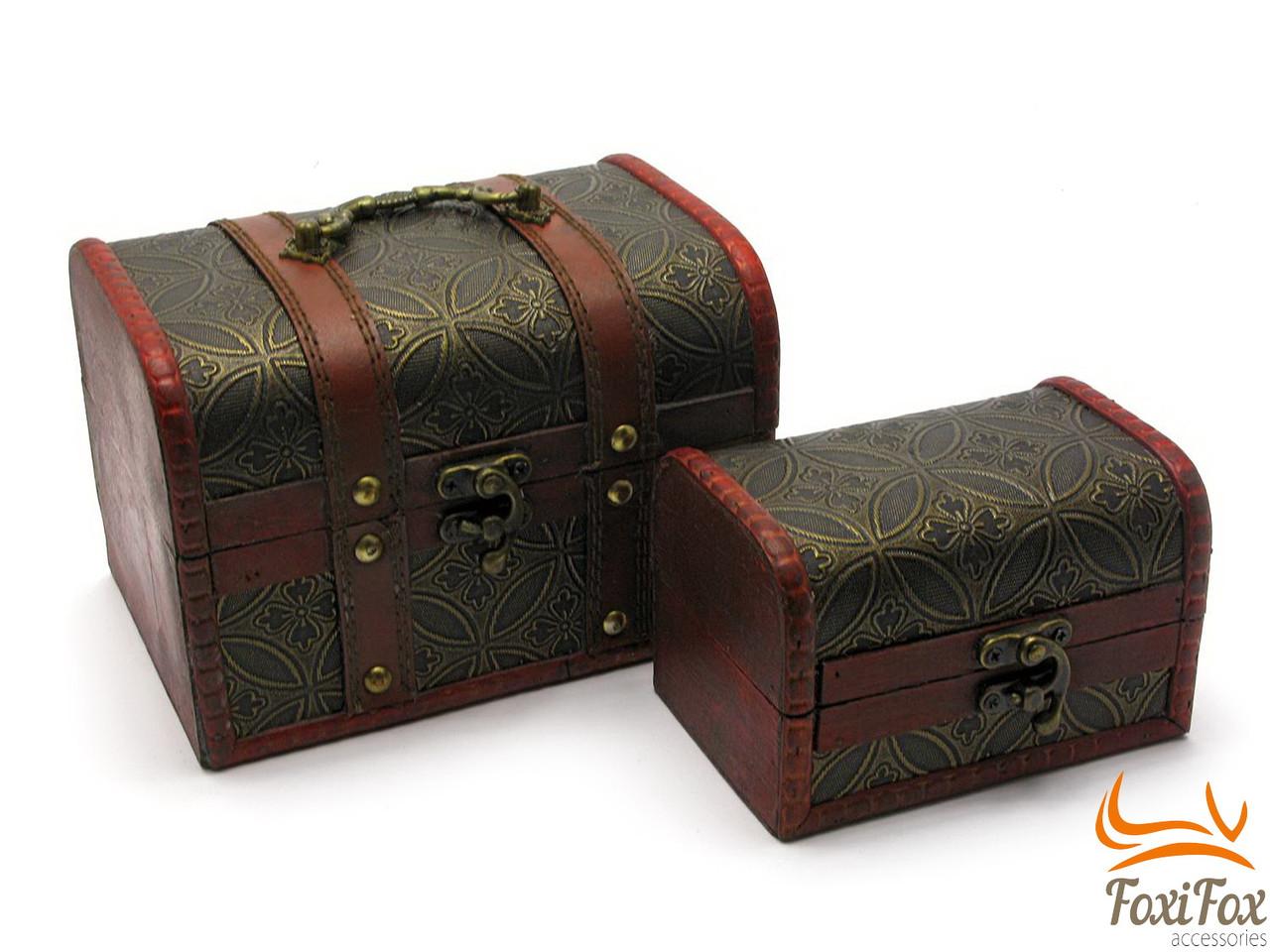 Набор пиратских сундуков из дерева - FOXI-FOX.COM онлайн маркет подарков в Харькове