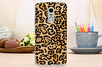 Чехол бампер для Lenovo Vibe X3 с картинкой шкура леопарда