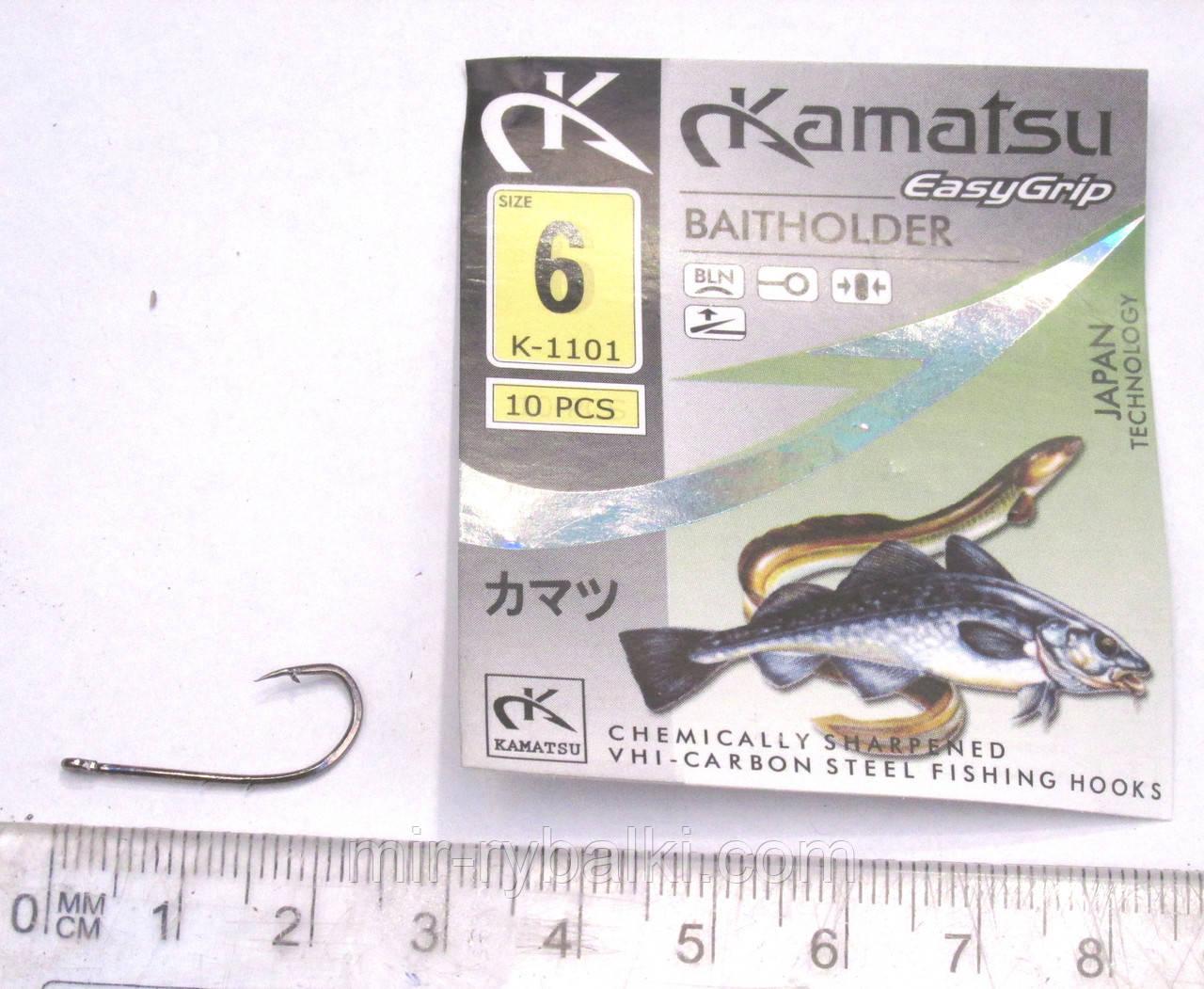 Крючки Kamatsu BAITHOLDER 6