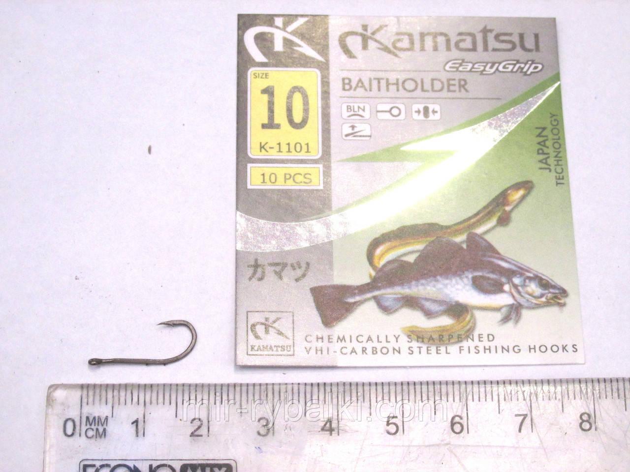 Крючки Kamatsu BAITHOLDER 10