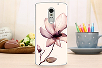 Чехол бампер для Lenovo Vibe X3 с картинкой цветок лилия