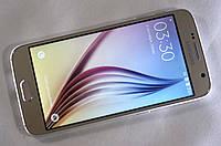 Новый смартфон Samsung Galaxy S6 (1SIM). Стильный дизайн. Хороший телефон. Купить смартфон.  Код: КДН162
