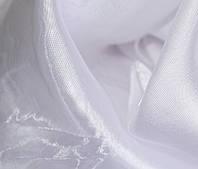 Тюль  (занавес, гардина) муар , микровуаль белоснежная