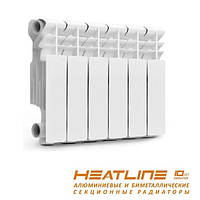 Радиатор отопления 300/80 биметаллический HeatLine