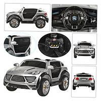 Детский электромобиль одноместный  Porshe Cayenne Turbo OPT-MT-M 2735 EBRS-(Автопокраска)