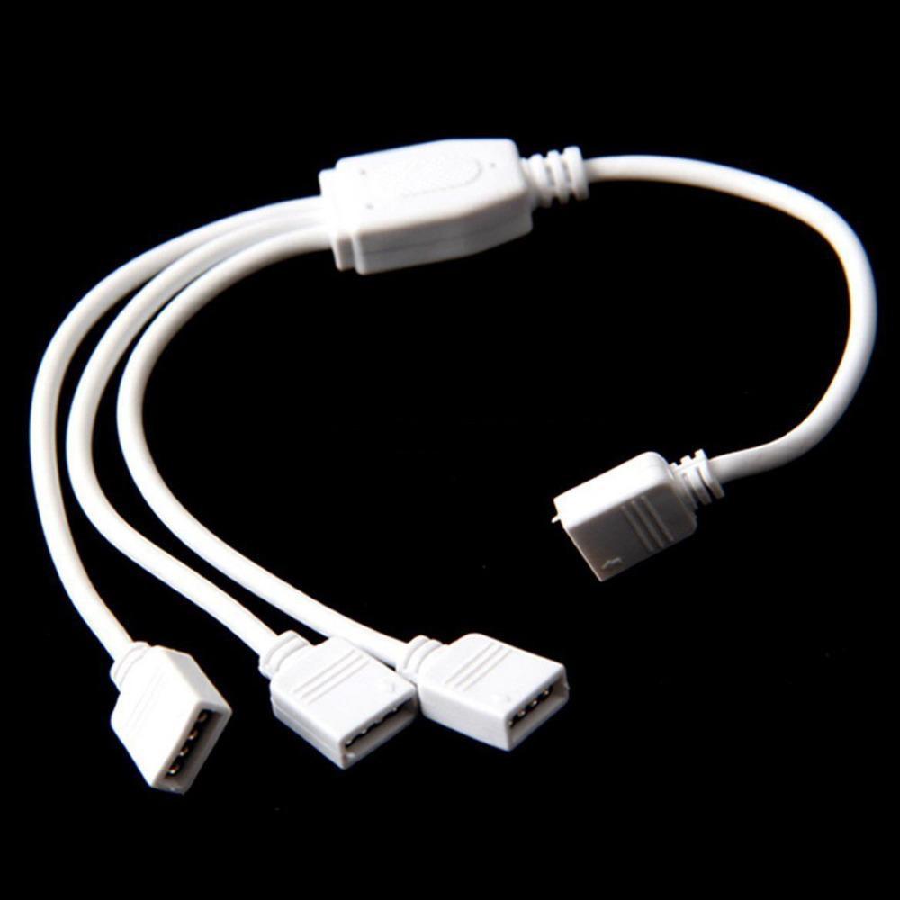 Dilux - Кабель делитель питания и сплиттер сигнала RGB 1/3  для светодиодной ленты
