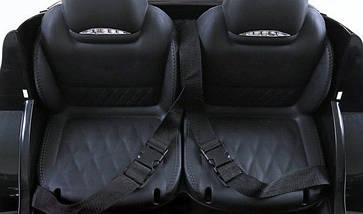 Двухместный детский электромобиль Mercedes GLE колеса EVA, дитяий електромобіль мерседес, фото 2