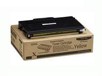 Тонер картридж лазерный цветной Xerox PH6100 Yellow (ксерокс)