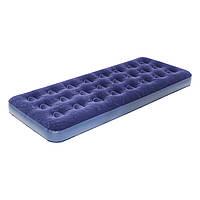 Надувная кровать, покрытая флоком, одноместный надувной матрас Bestway 67000