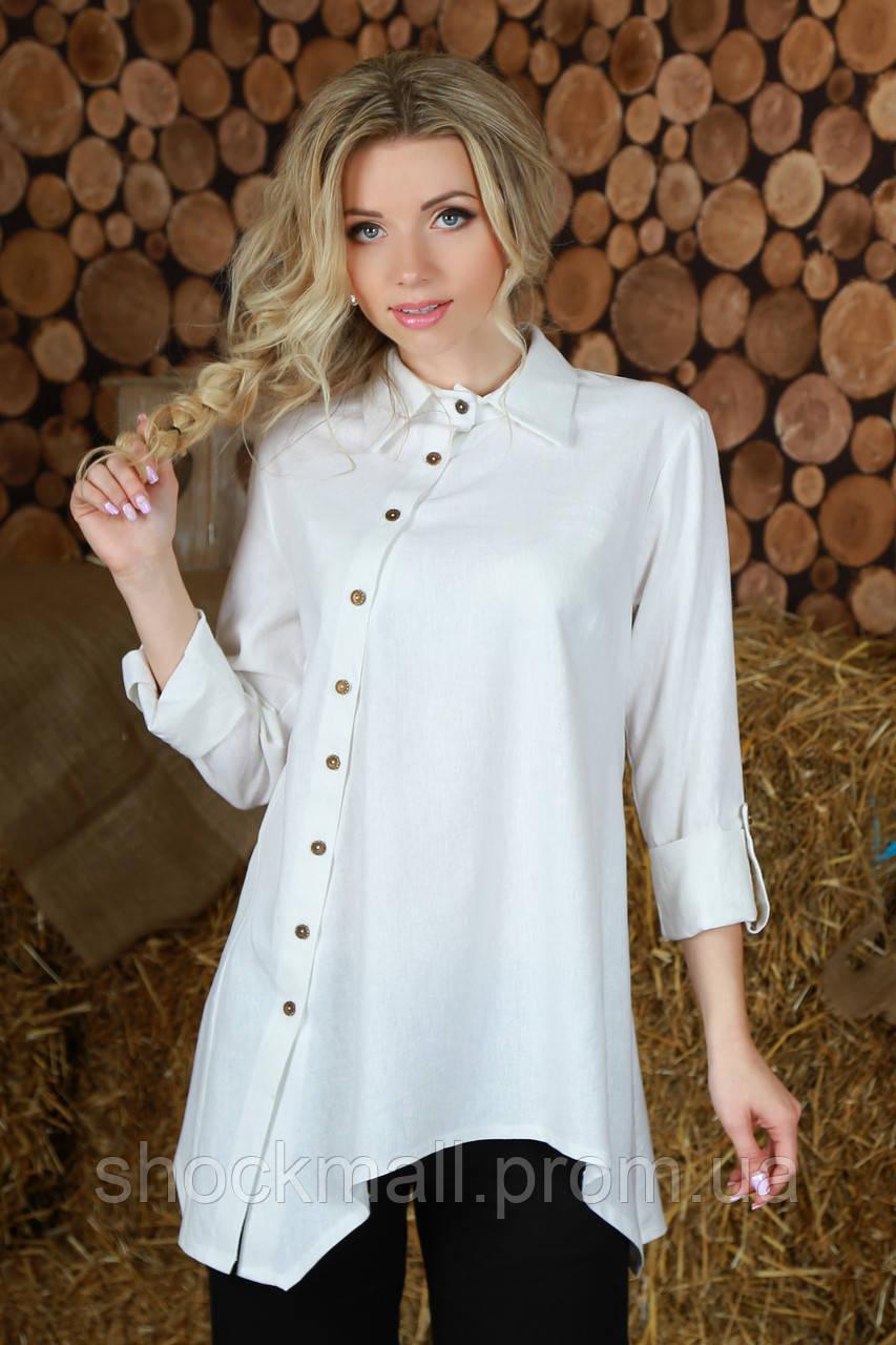 5a400a763e9 Рубашка женская из льна - Интернет магазин ShockMall в Киеве