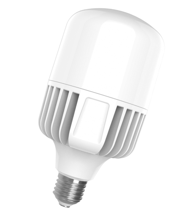 Лампа светодиодная EUROLAMP LED 70W E40 6500K 7300 Lm высокомощная промышленная (LED-HP-70406)