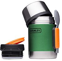 Stanley Термос пищевой с ложкой Stanley Adventure 0,5 л зеленый