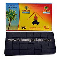 Уголь для кальяна Кокос 1кг, 112 кубиков (лучший уголь для кальяна)