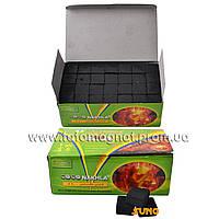 Уголь для кальяна кокосовый COCO NAKHLA 1кг 112кубиков (лучший уголь для кальяна)
