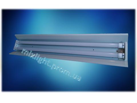 Светильник под led лампы Т-8 c отражателем 90 см.(корыто)