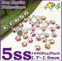 Стразы хамелеоны SS-5 1,8мм(стекло) Упаковка 1440 штук, фото 1