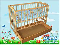 """Кроватка детская """"Малютка с ящиком """""""