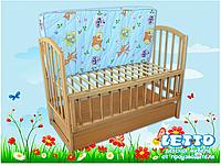 """Кроватка детская """"Малютка с ящиком плюс"""""""