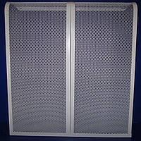 Декоративная решетка на чугунную батарею 6 секции