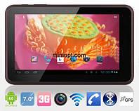 "Планшет Freelander PD10 4Гб. 7"", Android 4, 2 SIM, 3G, GPS"