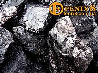 Уголь Антрацит АК (50-100мм)зола до 10%, фото 1