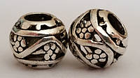 Шармы, бусины Pandora, металлические бусины