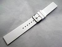 Ремешок каучуковый белый универсальный (18,20,22,24,26 мм)