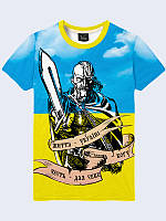 Мужская футболка Казак