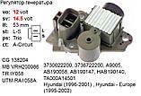 Регулятор напряжения для HYUNDAI Accent Coupe Elantra Getz Lantra Matrix Tucson KIA Carens Cerato Rio, фото 2