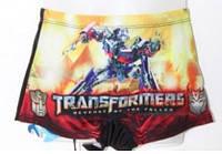 Детские плавки-шорты Transformers, 4-8 лет