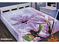 Шелковое покрывало на кровать 3 D 200*220 Мирабела