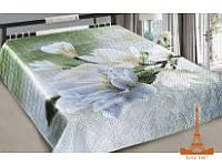 Шелковое покрывало на кровать 3 D 200*220 Элегия