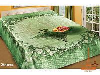 Шелковое покрывало на кровать 3 D 230*250 Жизель