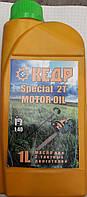 Смазочное масло для Бензокос и Бензопил Кедр 2Т