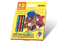 "Карандаши цветные короткие ""MARCO"" №1010H-12CB Пегашка (12 цветов), фото 1"