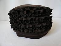Женские шапки с рюшами купить, фото 1